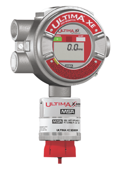 MSA Ultima XIR Gas Detector Fixed Gas