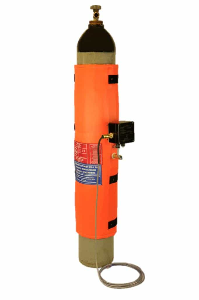 ATEX Gas Bottle Heater Jacket – Inteliheat IHF/G