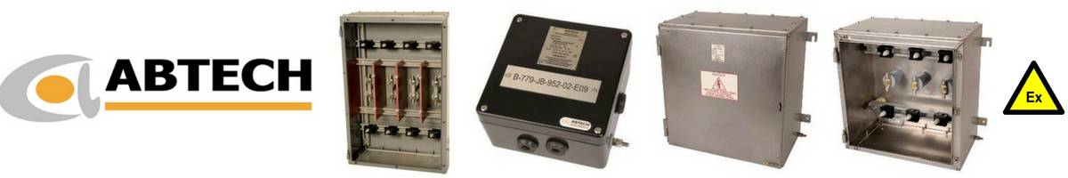 Abtech Electrical Enclosures Junction Boxes - Hazardous Area Zone 1 Zone 2 ATEX