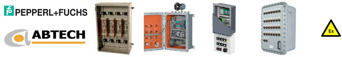 Abtech Pepperl Fuchs Control Panels Distribution Boards - Hazardous Area Zone 1 Zone 2