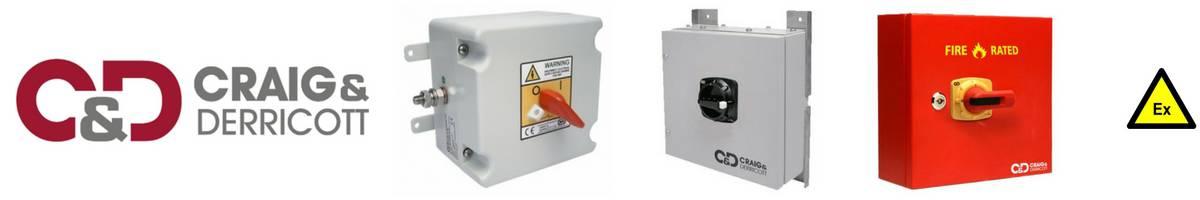 Craig & Derricott Isolators - Hazardous Area Zone 1 Zone 2 ATEX