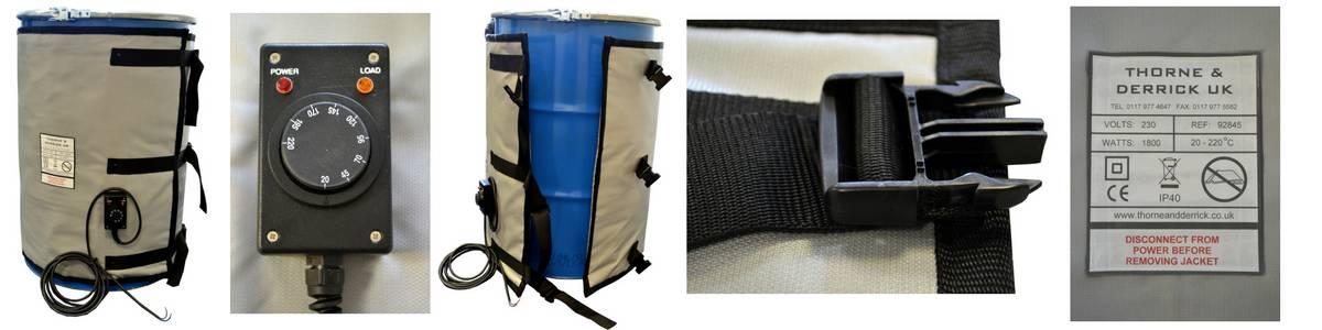 Drum Heater Jackets