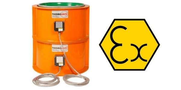 Drum Heaters - Hazardous Area Zone 1 & Zone 2 ATEX Certified