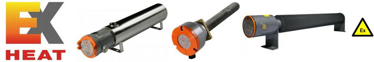 EXHEAT Electrical Heaters - Hazardous Area Zone 1 Zone 2 ATEX