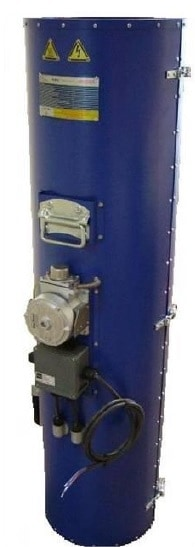 Hazardous Area Gas Bottle Heater ATEX (to 120°C) - Thermocoax Isopad FIGB-SR