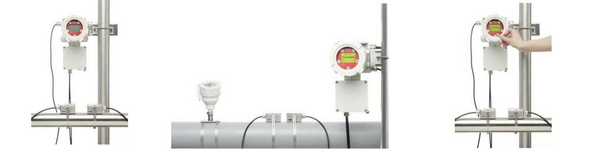 Katronic KATflow 170 ATEX Ultrasonic Clamp-On Flowmeter (Fixed)