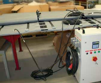 Rotor Blade Surface Heating Mats - Up To 90 Degrees Celsius