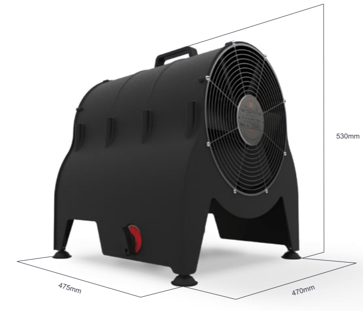 ATEX Electrical Fan Heater Portable