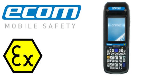ATEX Handheld Computer Zone 1 Zone 21 & Div 1 Hazardous Area – Ecom I.ROC Ci70-EX Handheld Computer