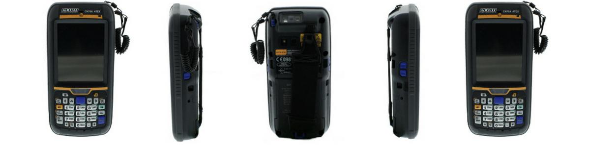 ATEX Handheld Computer Zone 2 Hazardous Area – Ecom CN70X ATEX PDA