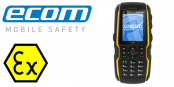 ATEX Mobile Phone Zone 1 Hazardous Area – Ecom Ex-Handy 08 Smart Phone