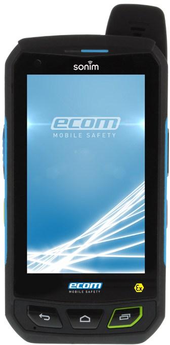 ATEX Mobile Phone Zone 1 Hazardous Area - Ecom Smart-Ex 01 Smart Phone
