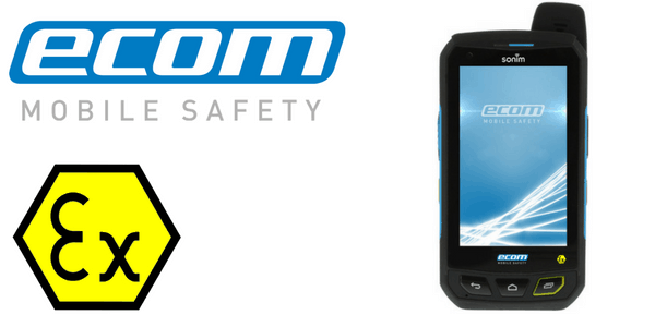 ATEX Mobile Phone Zone 1 Hazardous Area - Ecom Smart-Ex-01 Smart Phone