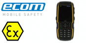 ATEX Mobile Phone Zone 2/22 Hazardous Area – Ecom Ex-HSPA 08 Smart Phone