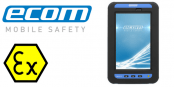 ATEX Tablet Zone 1 / Zone 21 & Div 1 Hazardous Area – Ecom TAB-EX 01 Android Tablet