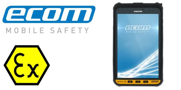 ATEX Tablet Zone 2 & Div 2 Hazardous Area – Ecom TAB-EX 01 Android Tablet