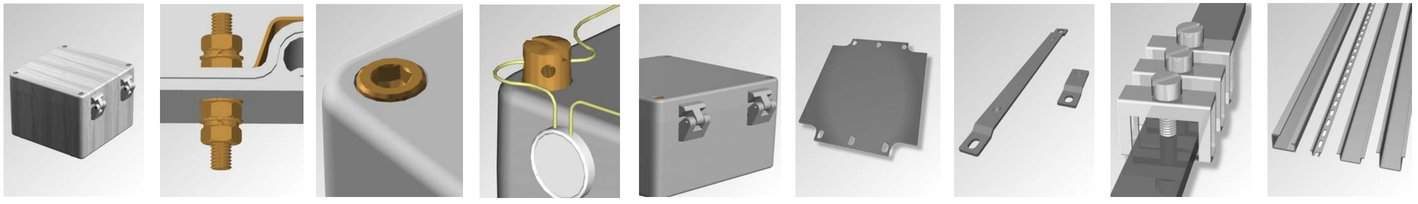 Abtech ZAG Hazardous Area Junction Boxes Product Features