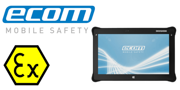 Division 2 Hazardous Area Tablet CSA - Ecom Pad-Ex 01 D2 Tablet (Windows)
