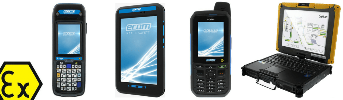 Ecom ATEX Rated Hazardous Area Communications Equipment Product Range