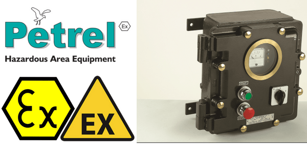 Enclosures, Motor Starters & Isolators - Hazardous Area Zone 1 & Zone 2 ATEX Certified