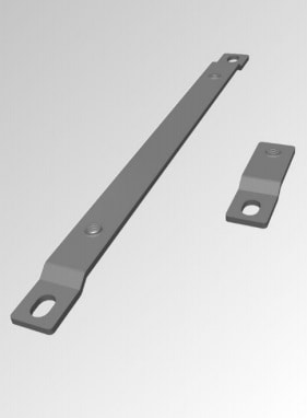 External mounting feet (stainless steel 316)
