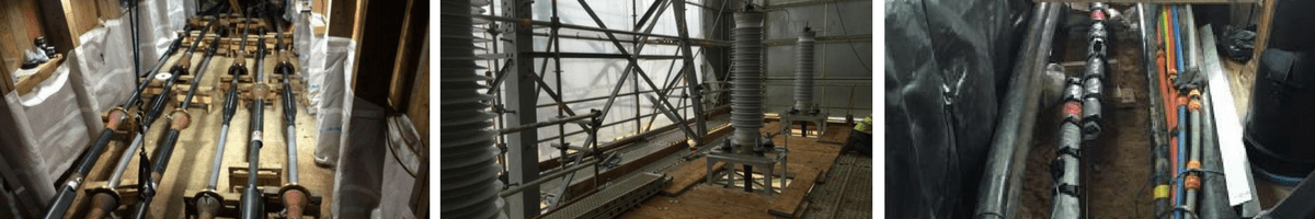 HV EHV Cable Joint Bays & Termination Towers