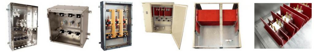 HV High Voltage Electrical Enclosures Junction Boxes