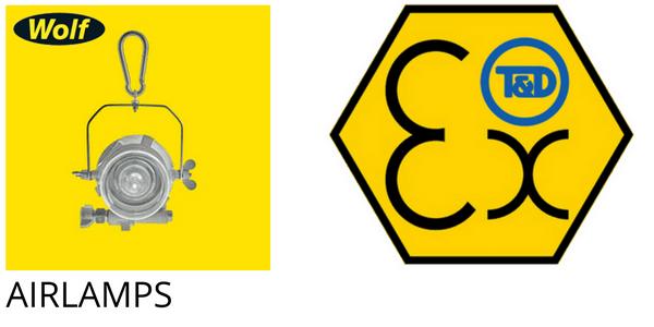 Hazardous Area ATEX Zone 1 & Zone 2 - Wolf Airlamps
