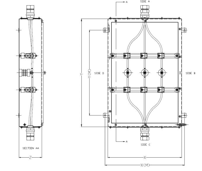 High Voltage HV Junction Box 6 6kV Hazardous Area ATEX Enclosure