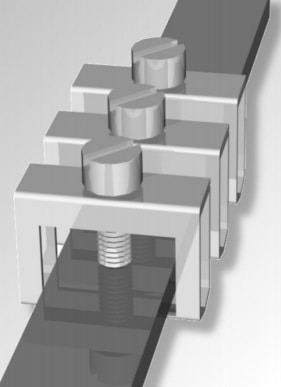 Internal Earthing bar (can be fitted with clamps)