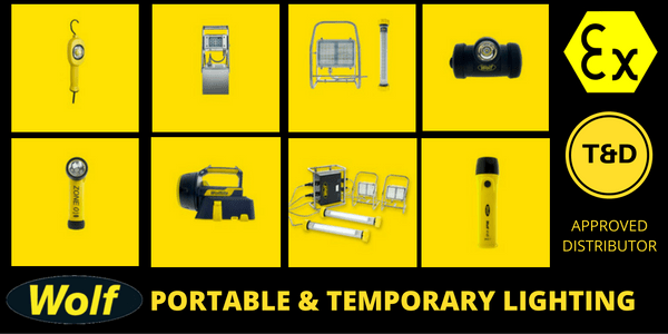 Hazardous Area Lighting - Zone 1 Zone 2 ATEX Portable Lighting