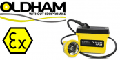 Oldham Caplamp DL9 – Hazardous Area Group 1 Mining M2 ATEX Lamps