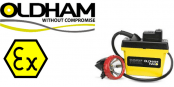 Oldham Caplamp GL16 – Hazardous Area Group 1 Mining M2 ATEX Lamps