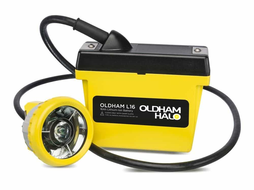 Oldham DL16 Caplamp - Hazardous Area Group 1 Mining