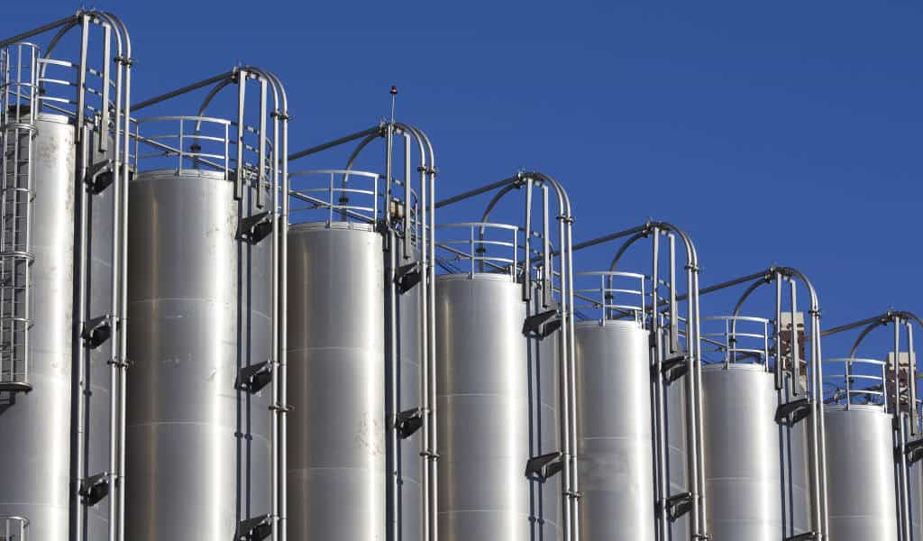 crude oil storage tank heaters