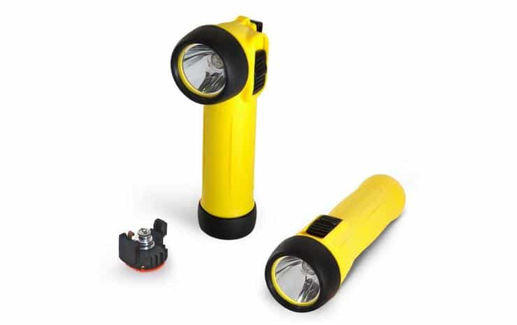 Wolf ATEX Safety LED Torches (Zones 0, 1, 2, 20, 21 & 22 Hazardous Areas)
