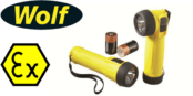 Wolf ATEX Torches (Zone 1 & Zone 2 Hazardous Areas)