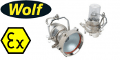Wolf Airlamp ATEX Turbolite – Zone 1, 2, 21 & 22 Hazardous Area