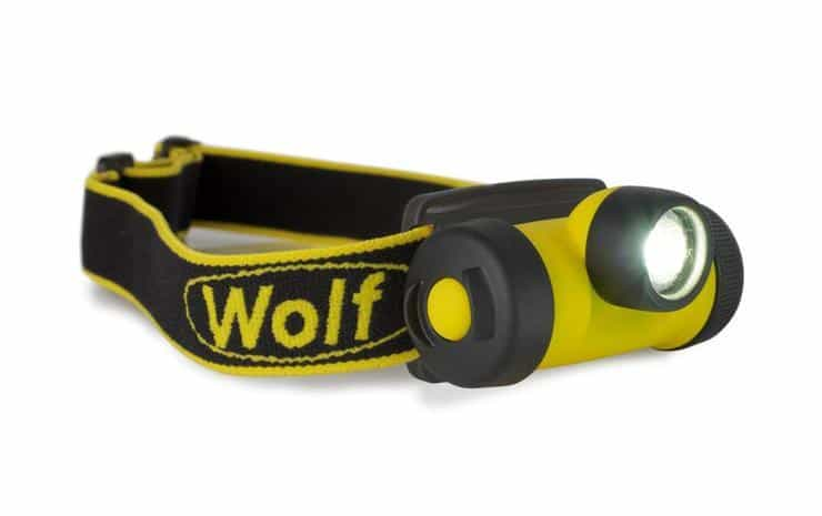 Wolf HT-400 ATEX LED Headtorch (Zone 1 & Zone 2 Hazardous Areas)
