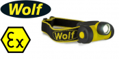 Wolf HT-400 ATEX LED Headtorch (Zone 1 & Zone 2 Hazardous Areas)