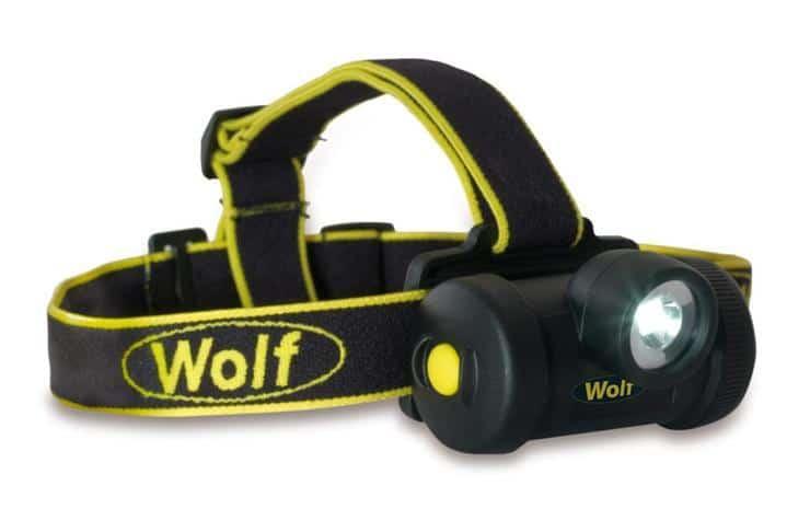 Wolf HT-650 ATEX LED Headtorch (Zones 0, 1, 2, 20, 21 & 22 Hazardous Areas)