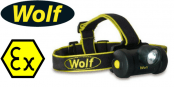 Wolf HT-650 ATEX LED Headtorch (Zones 0, 1, 2, 20, 21 & 22 Hazardous Areas)