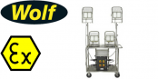 Wolf WF-350 LinkEx Mobile Lighting Unit – Zone 1, 2, 21 & 22 Hazardous Areas