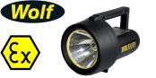 Wolf Wolflite H-251ALED Rechargeable Handlamp ATEX (Zones 1, 2, 21 & 22 Hazardous Areas)