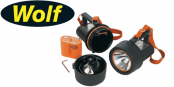 Wolf Wolflite H-251MK2 Handlamp (Zone 1 & Zone 2 Hazardous Areas)