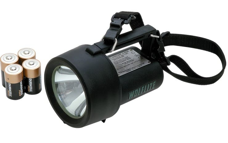 Wolf Wolflite H-4DCA Handlamp ATEX (Zones 1, 2, 21 & 22 Hazardous Areas)