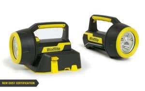 Wolf Wolflite XT LED Handlamp ATEX (Zones 0, 1, 2, 20, 21 & 22 Hazardous Areas)