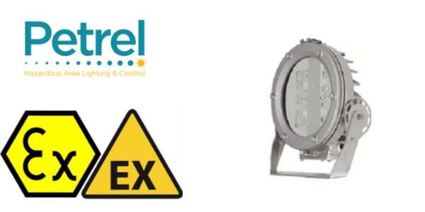 Zone 1 Floodlight ATEX - Ex de - Petrel Pd9000