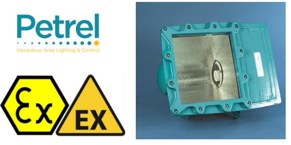 Zone 1 Floodlight ATEX - Ex de - Petrel 8 Series