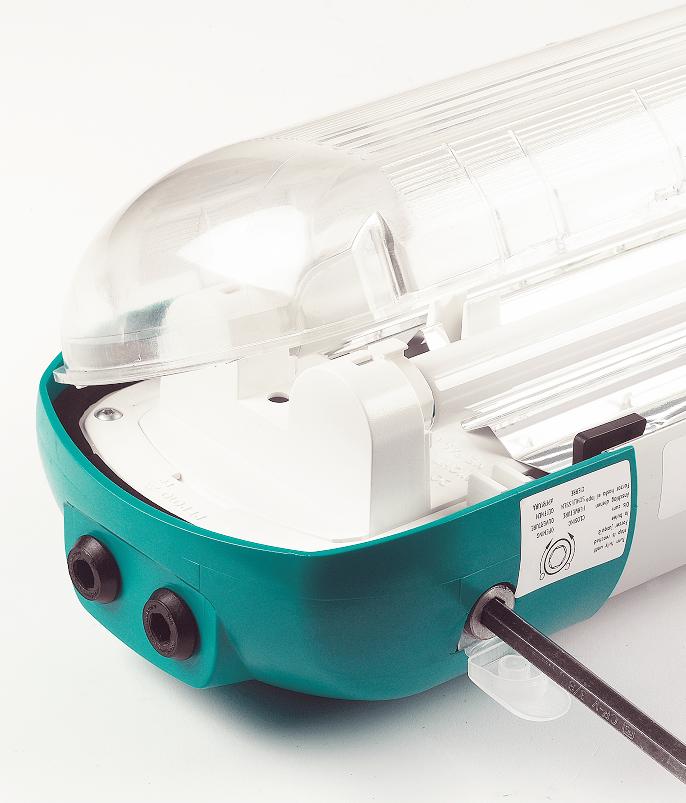 Zone 1 Fluorescent Lighting ATEX – Ex ed Linear Light Fittings - Petrel 9 Series